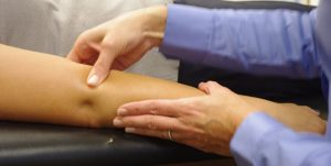Massage for tennis elbow